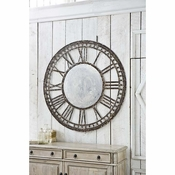 Antique Reproduction Clock Mirror