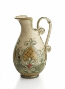 Hand Painted Italian Pitcher