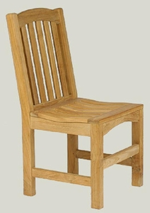 Outdoor Teak Side Chair