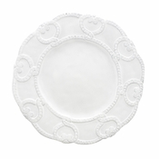 Arte Italica Bella Bianca Antique Lace Salad Plate
