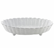 Arte Italica Bella Bianca Ribbon Serving Bowl