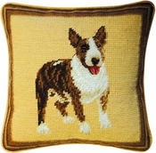 Bull Terrier Pillow