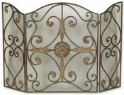 Baroque Fireplace Screen