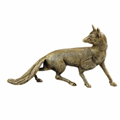 Fox Antique Brass