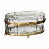 Oval Crystal Box