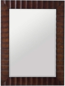 Scalloped Rectangular Mirror