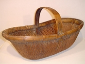 Vintage Chinese Country Baskets & Buckets