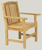 Solid Teak Outdoor Chair
