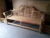 Scottsboro Teak Bench - 25% OFF