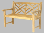 Outdoor Teak Bench - Large