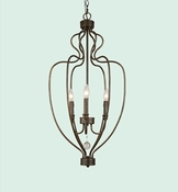 Simple Iron Chandelier