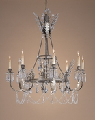 Russian Crystal Chandelier - One of a Kind