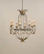 Iron Crafted Chandelier