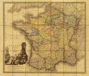 Antique Reproduction Map Collection