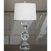 Crystal Baluster Lamp