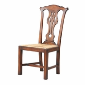 Weathered Chippendale Dining Chair