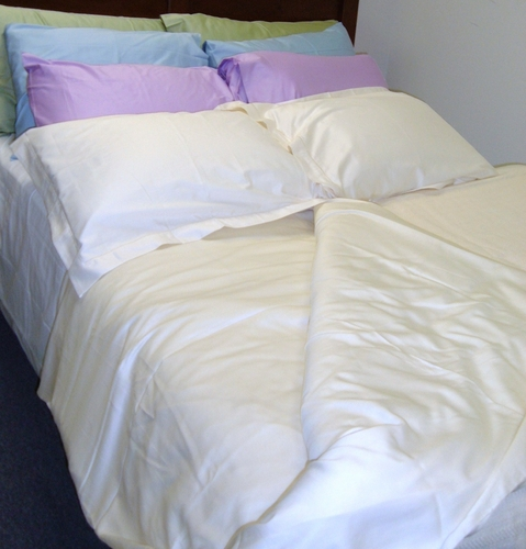 340 Thread Count Organic Duvet Cover