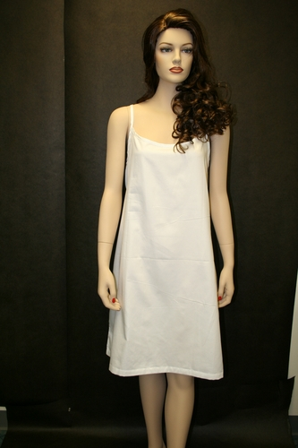 Organic Cotton Knee Length Gown