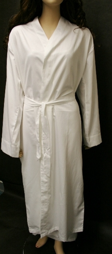 100% Organic Full Length Robe with Sleeves