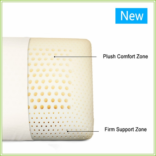 100% Natural Zoned Latex Pillow - King size