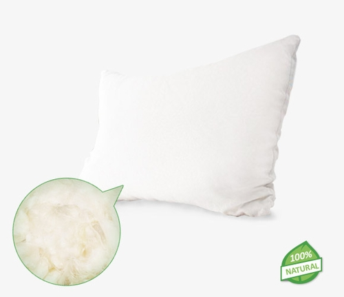 Natural Washable Wool Pillows with 100% Organic Cotton covering