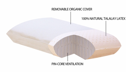 All Natural Talalay Latex Pillows