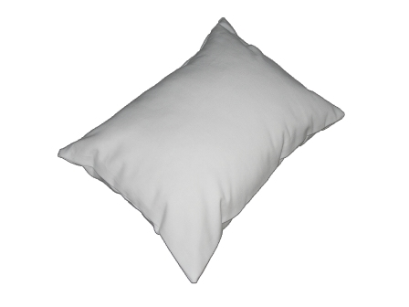 Organic Travel Pillows - Choice of Wool, Kapok or Organic Cotton, Shredded Latex Filling