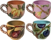 Nature's Fruit - Tea Cup Set of 4