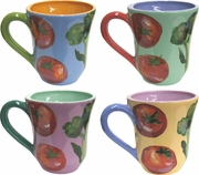 Farmer's Market - Mug Set of 4