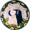 Bride & Groom - Large Platter