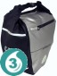 16 Ltr Waterproof Bike Rear Panier - Black