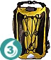 OverBoard Waterproof Backpack - Yellow 1200