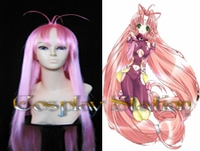 DearS Miu Commission Long Pink Cosplay Wig