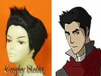 Avatar The Legend of Korra Mako Custom Styled Cosplay Wig