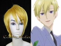 Ouran High School Boy Blonde Cosplay Wig