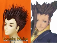 Tales of Vesperia Yeager Custom Made Cosplay Wig