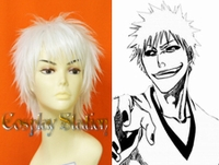 "Bleach Hollow Ichigo Custom Made Cosplay Wig_<font color=""red"">New Version</font>"