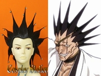 Bleach Zaraki Kenpachi Custom Made Cosplay Wig