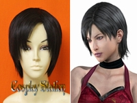 Resident Evil  Ada Wong Custom Styled Cosplay Wig
