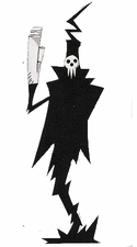 Soul Eater Shinigami Lord Death Cosplay Costume