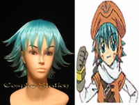 .Hack//Legend of the Twilight Shugo Kunisaki Blue Cosplay Wig