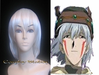.Hack // Sign Tsukasa White Cosplay Wig