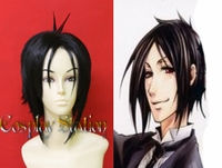 "Black Butler Kuro Shitsuji Cosplay Wig_<font color=""red"">New Version!</font>"