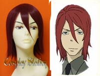 Soul Eater Spirit Custom Made Red Cosplay Wig