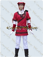 "The Legend Of Zelda Cosplay Red Link Costume_<font color=""red"">New Arrival!</font>"