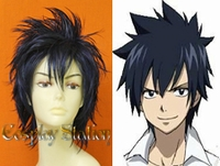 Fairy Tail Cosplay Gray Fullbuster Custom Made Cosplay Wig