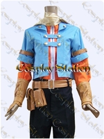 Golden Sun Dark Dawn Isaac/Robin Cosplay Costume