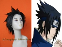 Naruto Sasuke Custom Made Cosplay Wig