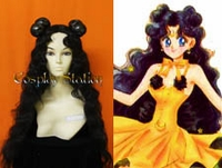 Sailor Moon Luna  Custom Made Cosplay Wig