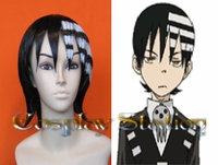 Soul Eater Death the Kid Commission Cosplay Wig